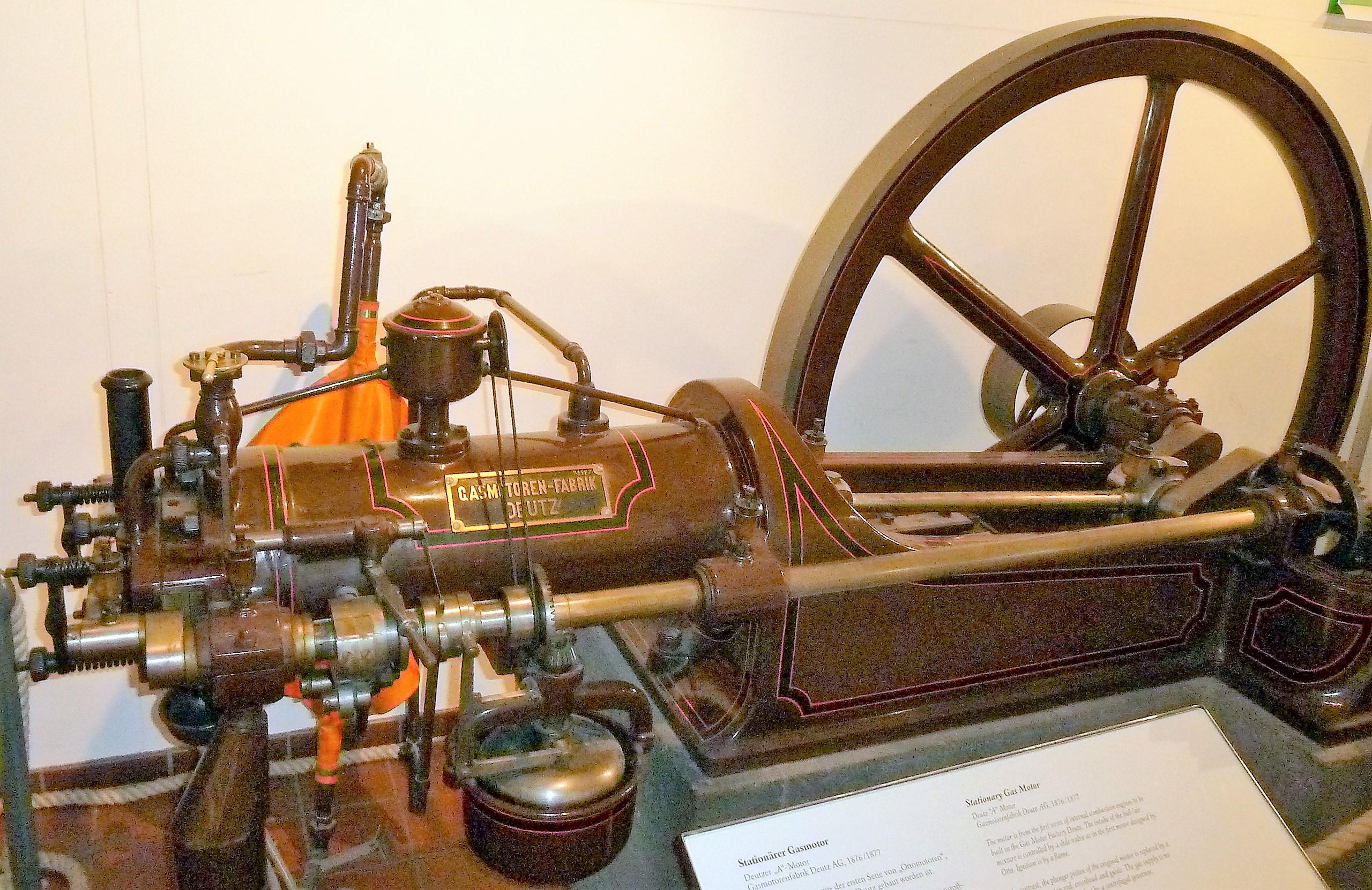 1876 Der Ottomotor