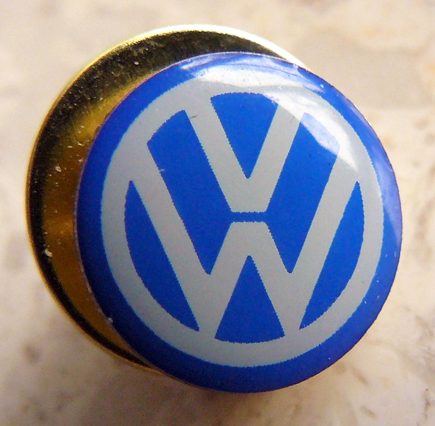 Speldjes Porsche Pin Badge Motorsport silber logo geschwungene Form